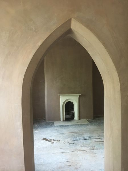 Plastered Gothic Archway: Swipe To View More Images