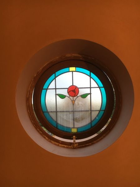 Plastered Port Hole Window: Swipe To View More Images