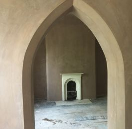 Plastered Gothic Archway: Click Here To View Larger Image